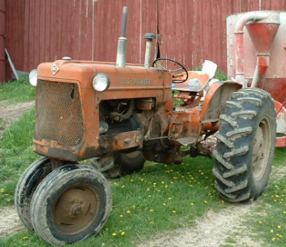 where is the serial number on an allis chalmers d17