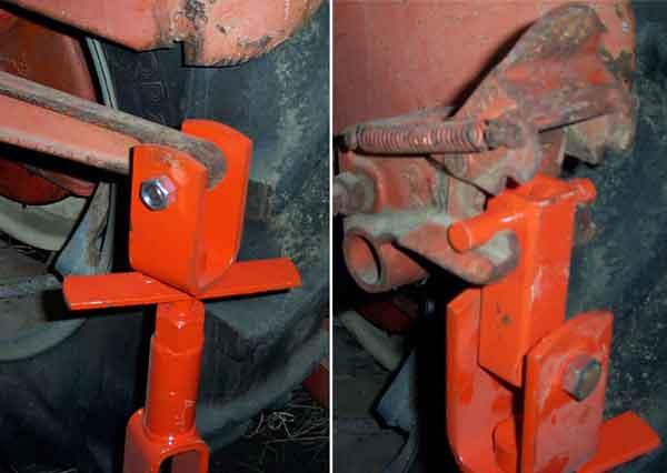 Levelingarmtop on Allis Chalmers Wd45 Tractor
